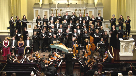 Handel Choir of Baltimore performing Messiah