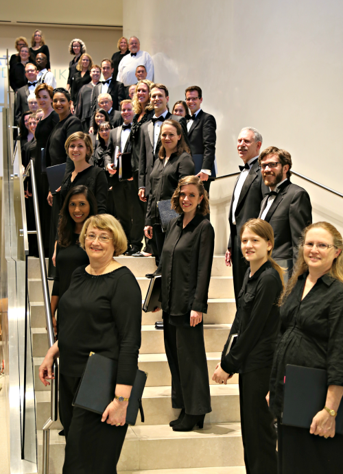 Handel Choir at the BMA Oct 2016